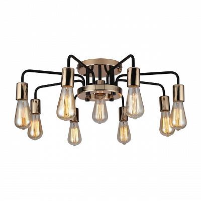 Потолочная люстра Arte Lamp A6001PL-9BK