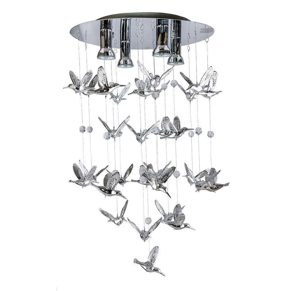 Каскадная люстра Azzardo Birds AZ2449