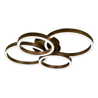 Потолочная светодиодная люстра iLedex Ring-New 6815-300/400-X-T Coffee