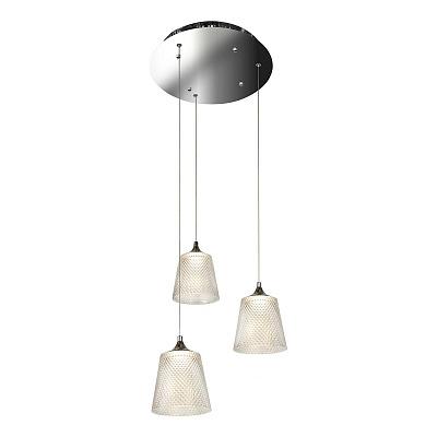 Подвесная светодиодная люстра iLedex Flora WD8007-3 CR