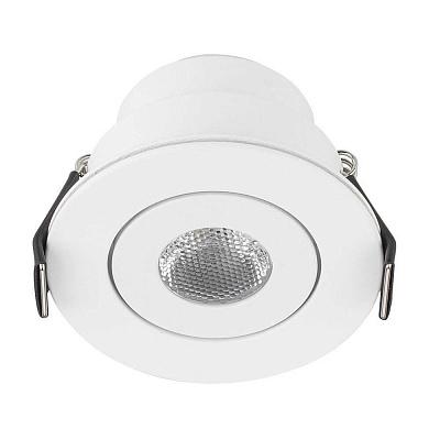 Мебельный светодиодный светильник Arlight LTM-R52WH 3W Day White 30deg 014914