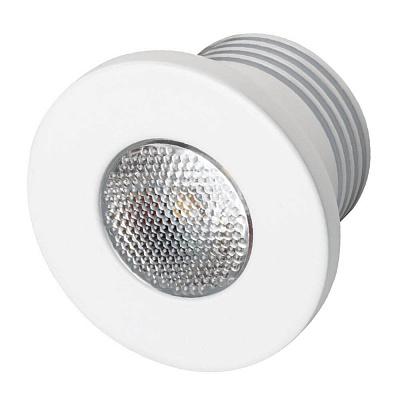 Мебельный светодиодный светильник Arlight LTM-R35WH 1W Warm White 30deg 020753