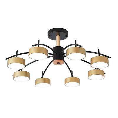 Потолочная светодиодная люстра Kink Light Лавна 07651-8,33