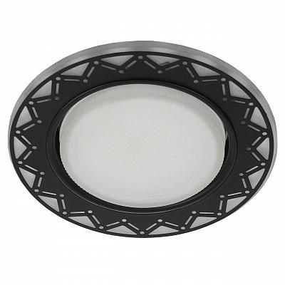 Точечный светильник ЭРА DK LD27 WH/BK Б0037389