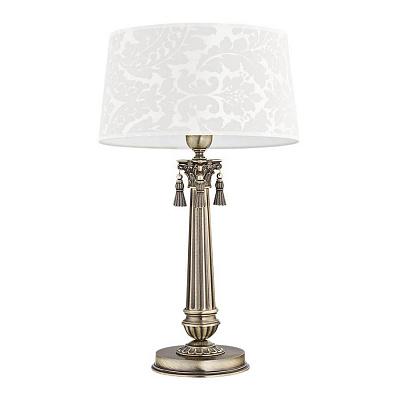 Настольная лампа Kutek Roma Abazur ROM-LG-1 (P/A)