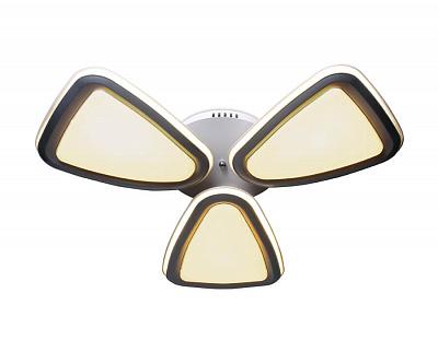 Потолочная светодиодная люстра Ambrella light Orbital Granule FG1010/3 WH/SL 204W D770