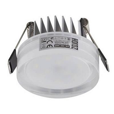 Встраиваемый светодиодный светильник Horoz Valeria 5W 4200К 016-040-0005