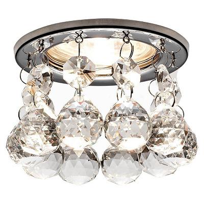 Встраиваемый светильник Ambrella light Crystal K2051 CH/CL