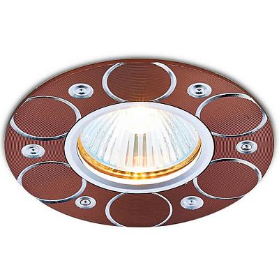 Встраиваемый светильник Ambrella light Alum A808 AL/BR