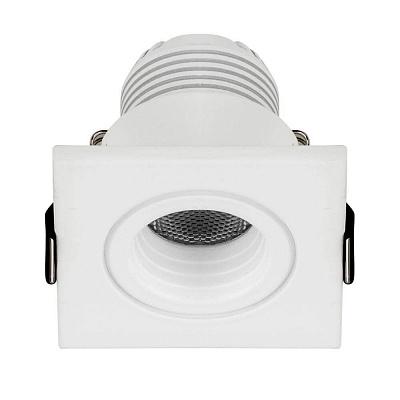 Мебельный светодиодный светильник Arlight LTM-S46x46WH 3W Warm White 30deg 015392
