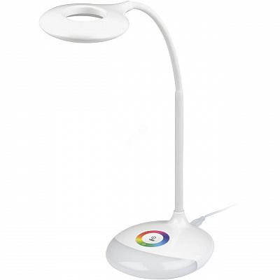 Настольная лампа (UL-00001496) Uniel TLD-535 White/LED/250Lm/5500K/Dimmer
