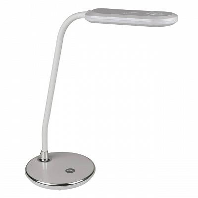 Настольная лампа (10290) Volpe TLD-522 Silver/LED/360Lm/6000K/Dimmer