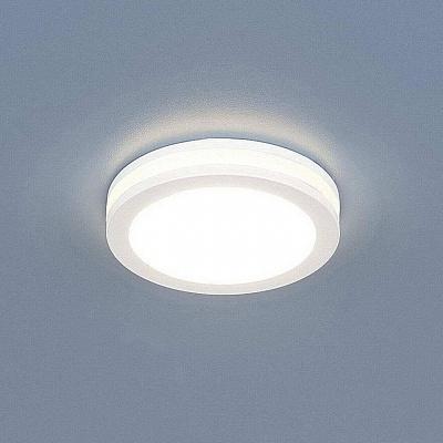 Встраиваемый светодиодный светильник Elektrostandard DSKR80 5W 3300K 4690389056703