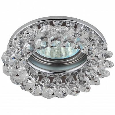 Встраиваемый светильник ЭРА Декор DK16 CH/WH C0044737